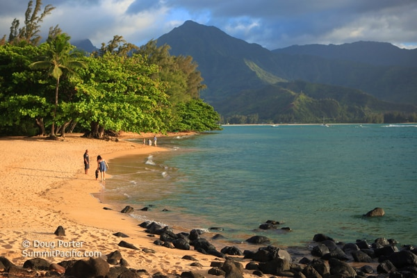 photo-puu-poa-beach-as-seen-from-the-st-regis-princeville-resort-2